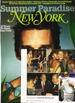 Robert Guenther Featured on the Cover of New York Magazine