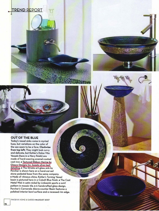 Robert Guenther Featured in Phoenix Home & Garden